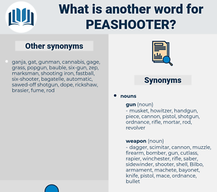 peashooter, synonym peashooter, another word for peashooter, words like peashooter, thesaurus peashooter