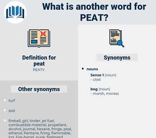 peat, synonym peat, another word for peat, words like peat, thesaurus peat