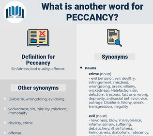 Peccancy, synonym Peccancy, another word for Peccancy, words like Peccancy, thesaurus Peccancy