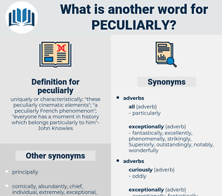 peculiarly, synonym peculiarly, another word for peculiarly, words like peculiarly, thesaurus peculiarly