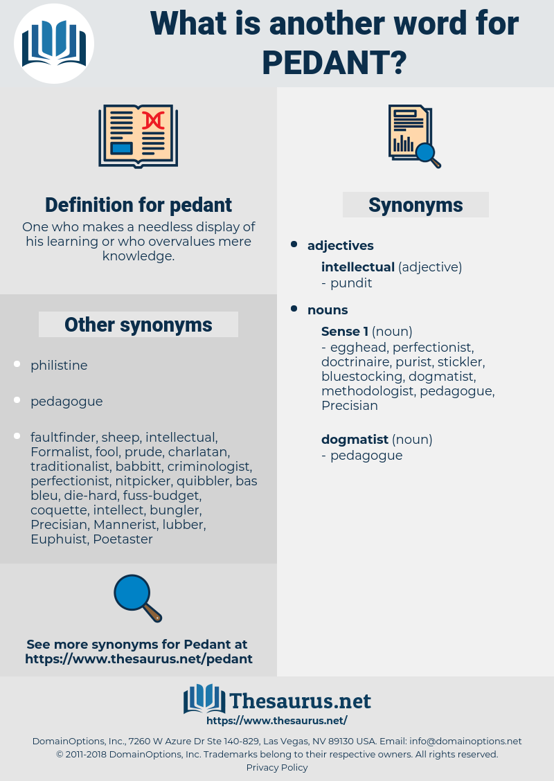 pedant, synonym pedant, another word for pedant, words like pedant, thesaurus pedant