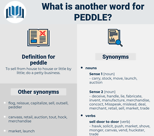peddle, synonym peddle, another word for peddle, words like peddle, thesaurus peddle