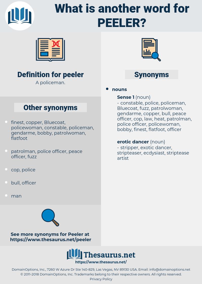 peeler, synonym peeler, another word for peeler, words like peeler, thesaurus peeler