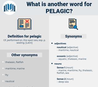 pelagic, synonym pelagic, another word for pelagic, words like pelagic, thesaurus pelagic