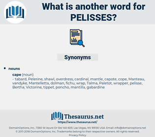 pelisses, synonym pelisses, another word for pelisses, words like pelisses, thesaurus pelisses