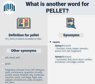 pellet, synonym pellet, another word for pellet, words like pellet, thesaurus pellet