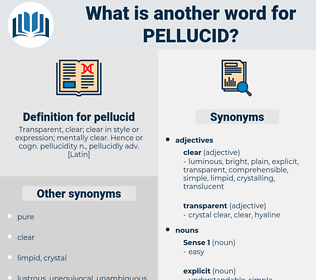 pellucid, synonym pellucid, another word for pellucid, words like pellucid, thesaurus pellucid