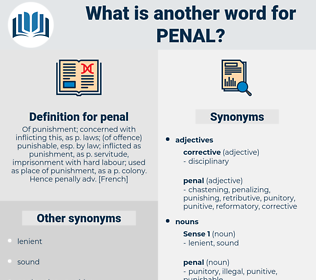 penal, synonym penal, another word for penal, words like penal, thesaurus penal