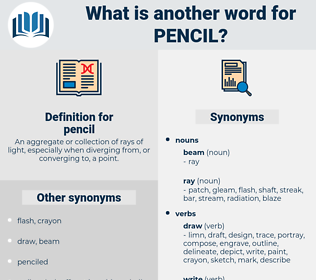 pencil, synonym pencil, another word for pencil, words like pencil, thesaurus pencil