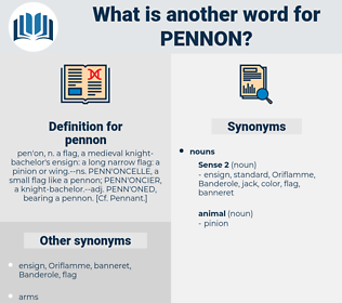 pennon, synonym pennon, another word for pennon, words like pennon, thesaurus pennon