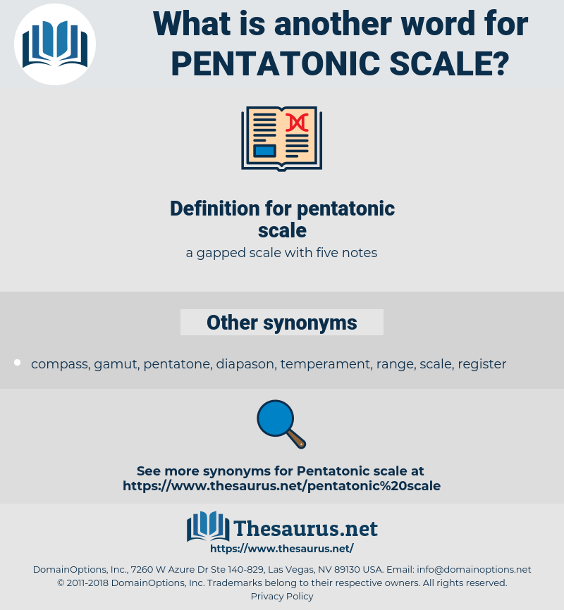 pentatonic scale, synonym pentatonic scale, another word for pentatonic scale, words like pentatonic scale, thesaurus pentatonic scale