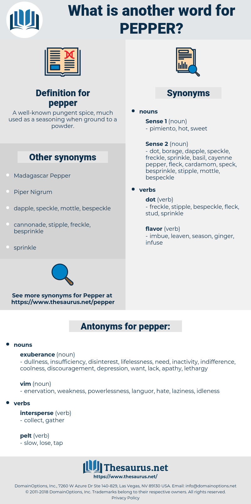 pepper, synonym pepper, another word for pepper, words like pepper, thesaurus pepper