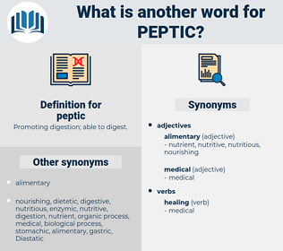 peptic, synonym peptic, another word for peptic, words like peptic, thesaurus peptic