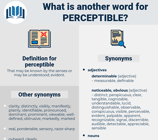 perceptible, synonym perceptible, another word for perceptible, words like perceptible, thesaurus perceptible