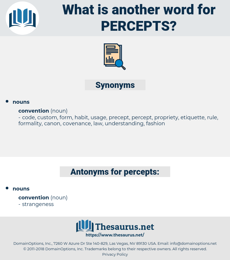 percepts, synonym percepts, another word for percepts, words like percepts, thesaurus percepts
