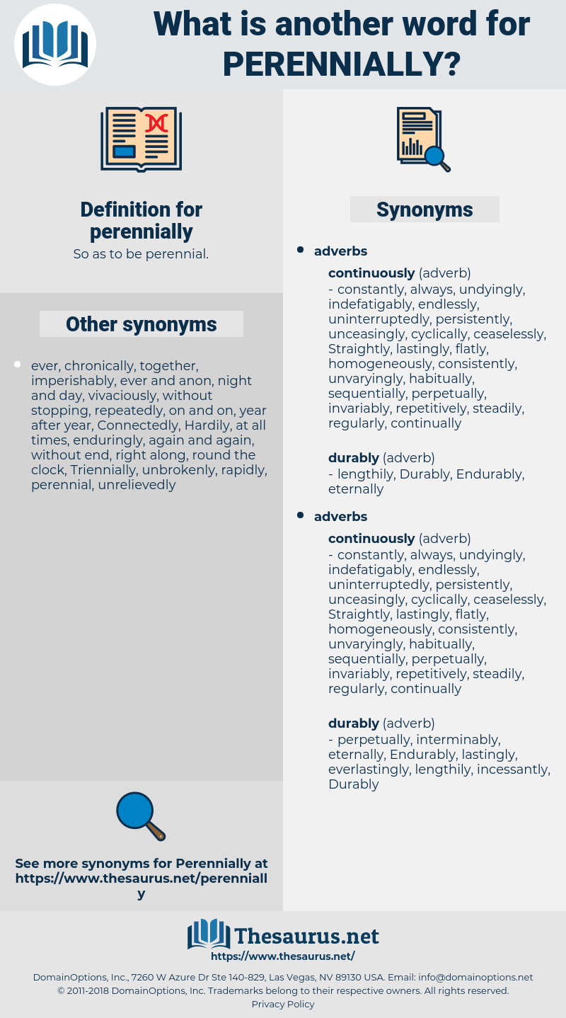 perennially, synonym perennially, another word for perennially, words like perennially, thesaurus perennially