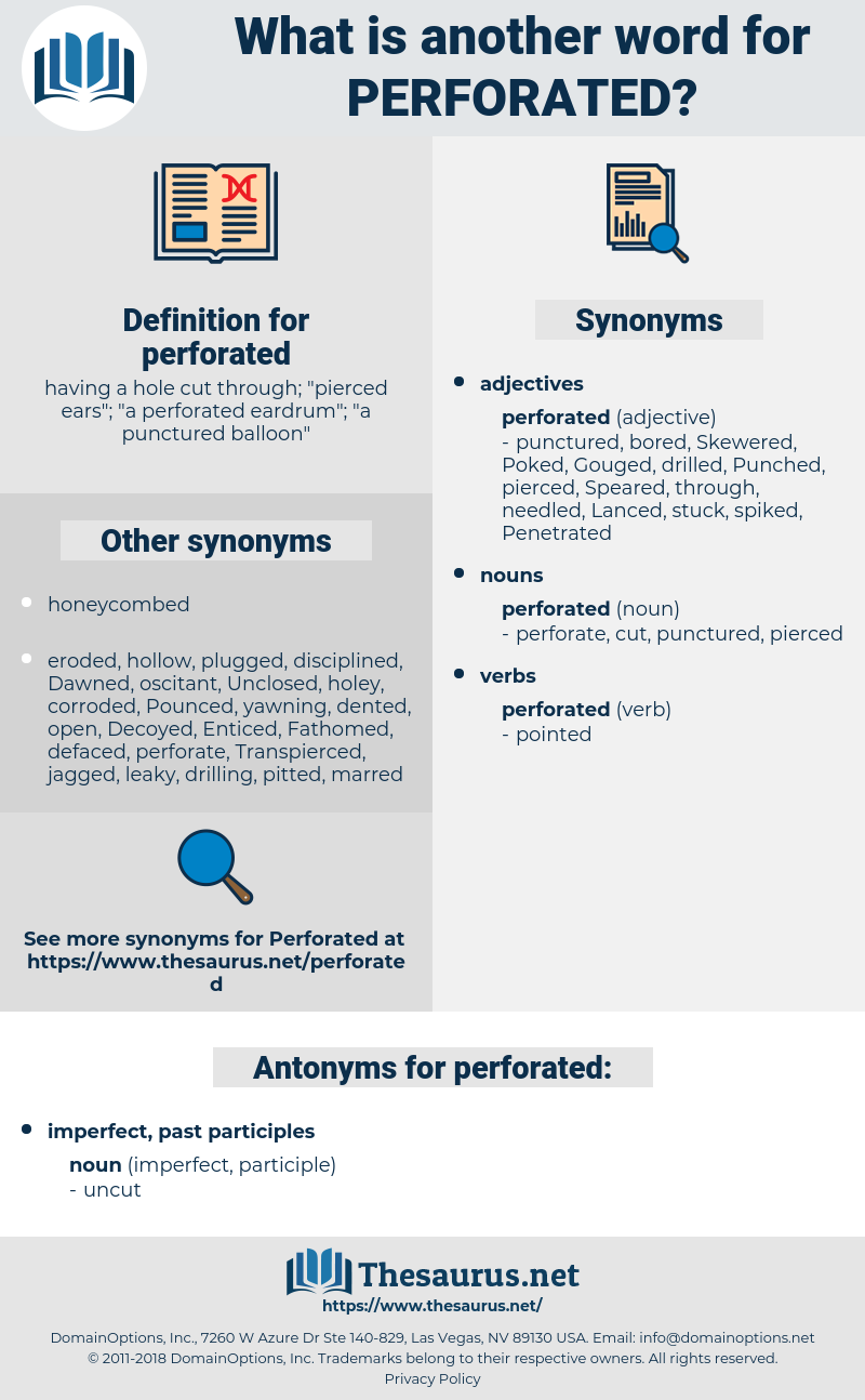 perforated, synonym perforated, another word for perforated, words like perforated, thesaurus perforated