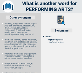 performing arts, synonym performing arts, another word for performing arts, words like performing arts, thesaurus performing arts