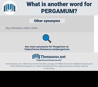 Pergamum, synonym Pergamum, another word for Pergamum, words like Pergamum, thesaurus Pergamum