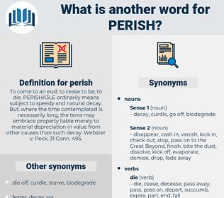 perish, synonym perish, another word for perish, words like perish, thesaurus perish