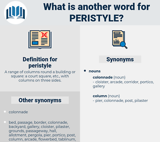 peristyle, synonym peristyle, another word for peristyle, words like peristyle, thesaurus peristyle