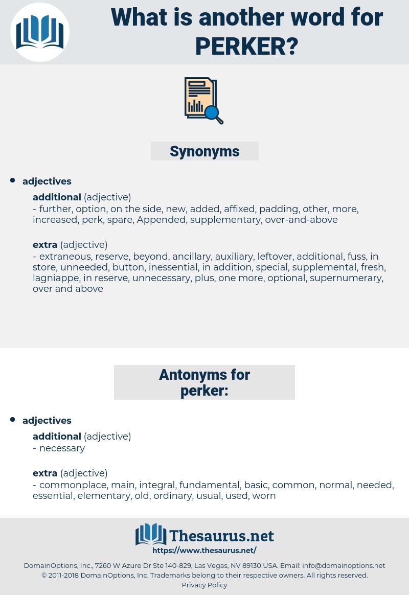 perker, synonym perker, another word for perker, words like perker, thesaurus perker