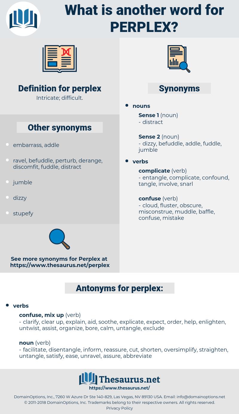 perplex, synonym perplex, another word for perplex, words like perplex, thesaurus perplex