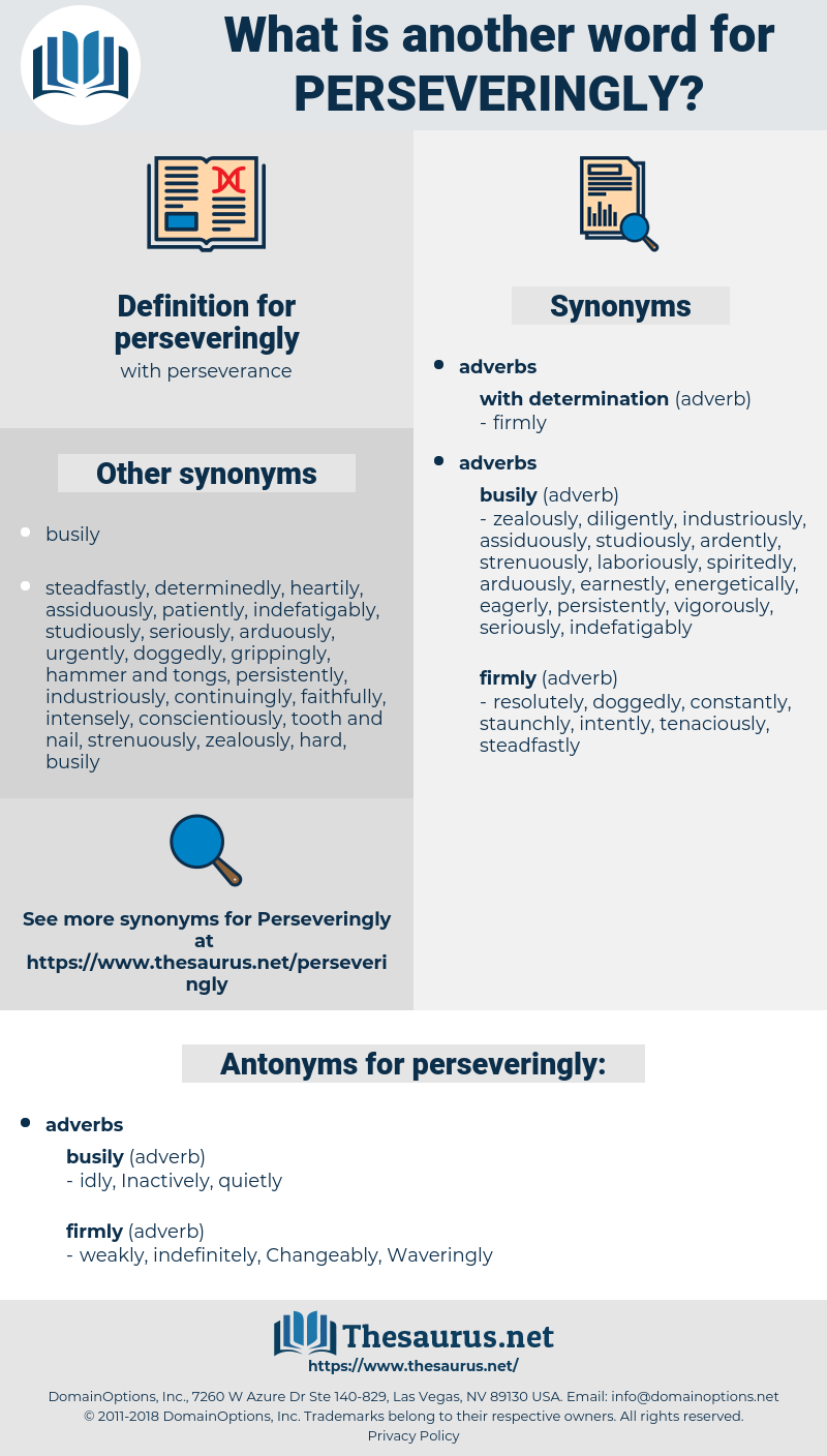 perseveringly, synonym perseveringly, another word for perseveringly, words like perseveringly, thesaurus perseveringly