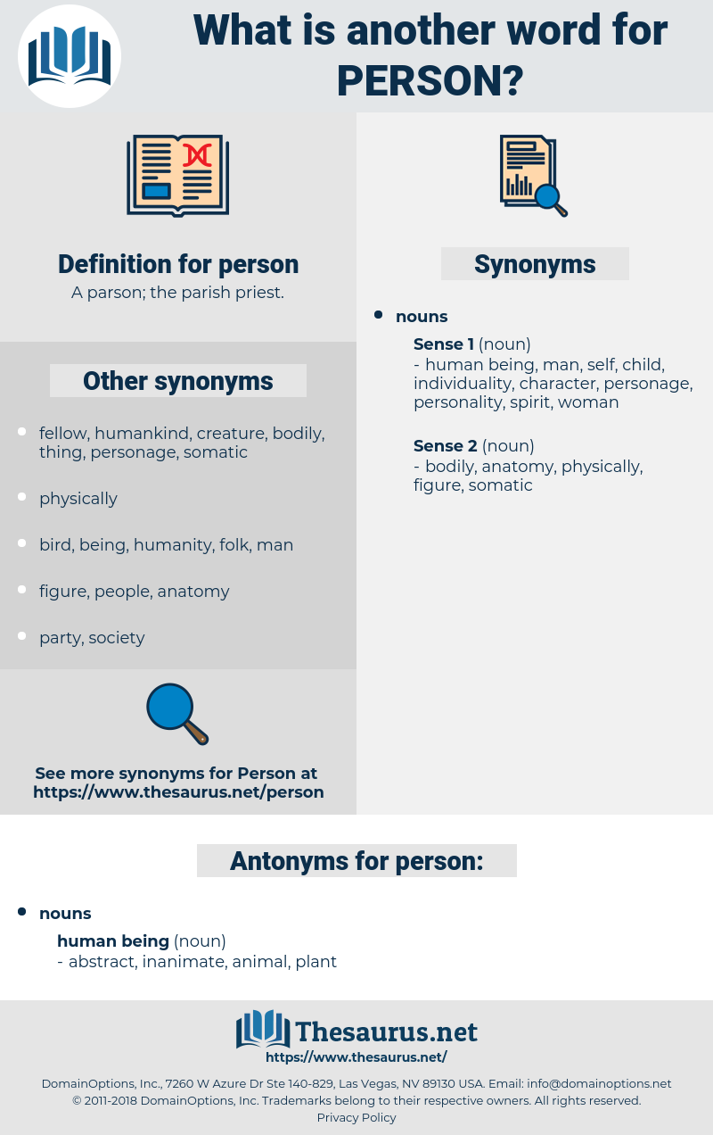 person, synonym person, another word for person, words like person, thesaurus person