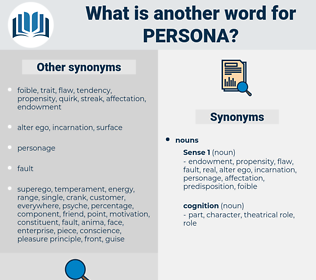 persona, synonym persona, another word for persona, words like persona, thesaurus persona