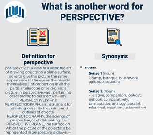 perspective, synonym perspective, another word for perspective, words like perspective, thesaurus perspective