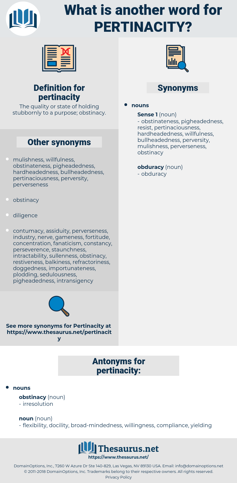 pertinacity, synonym pertinacity, another word for pertinacity, words like pertinacity, thesaurus pertinacity