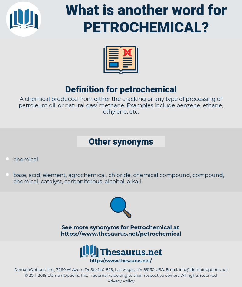 petrochemical, synonym petrochemical, another word for petrochemical, words like petrochemical, thesaurus petrochemical