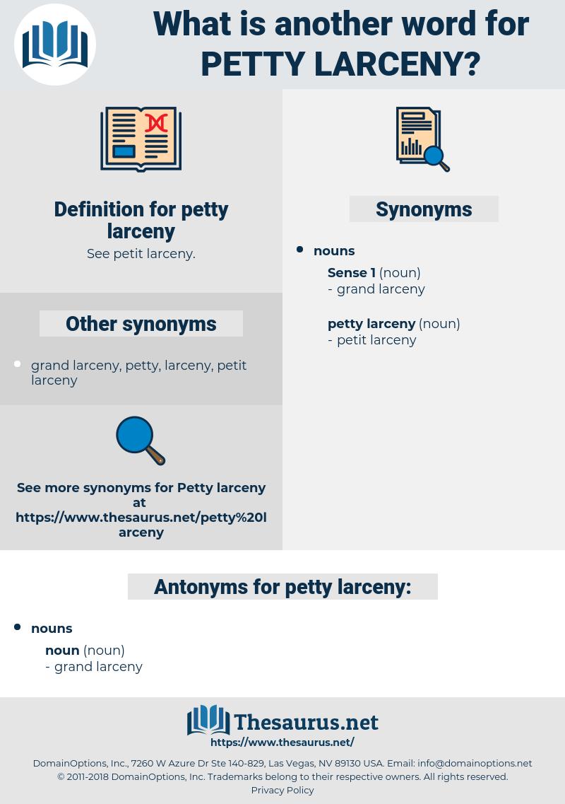 petty larceny, synonym petty larceny, another word for petty larceny, words like petty larceny, thesaurus petty larceny