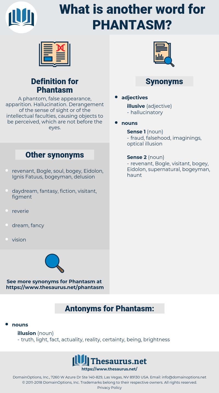 Phantasm, synonym Phantasm, another word for Phantasm, words like Phantasm, thesaurus Phantasm
