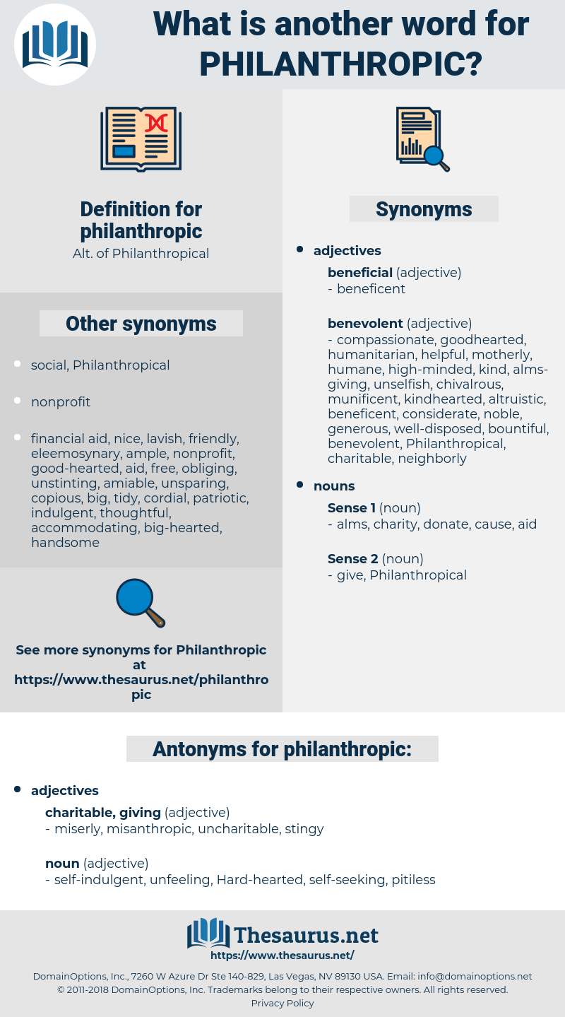 philanthropic, synonym philanthropic, another word for philanthropic, words like philanthropic, thesaurus philanthropic