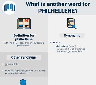 philhellene, synonym philhellene, another word for philhellene, words like philhellene, thesaurus philhellene