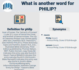 philip, synonym philip, another word for philip, words like philip, thesaurus philip