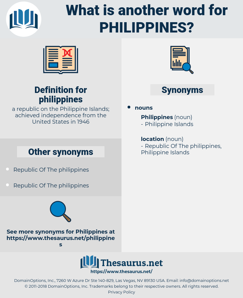 philippines, synonym philippines, another word for philippines, words like philippines, thesaurus philippines