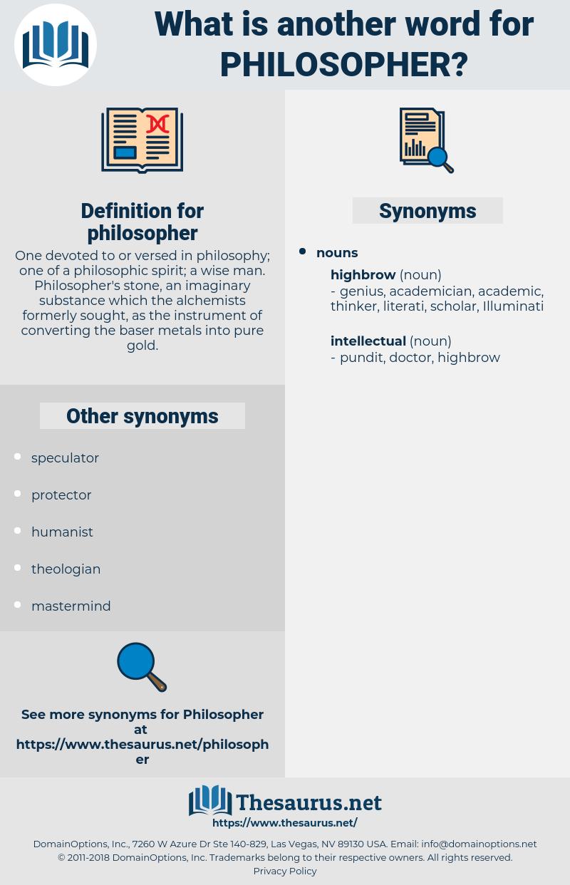 philosopher, synonym philosopher, another word for philosopher, words like philosopher, thesaurus philosopher