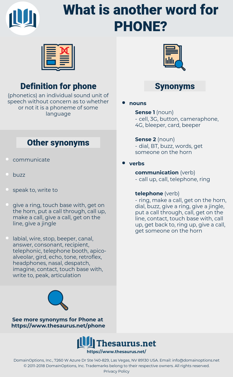 phone, synonym phone, another word for phone, words like phone, thesaurus phone