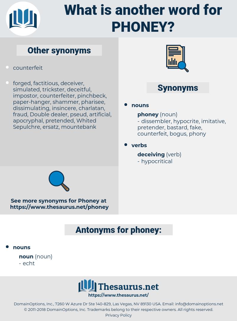 phoney, synonym phoney, another word for phoney, words like phoney, thesaurus phoney