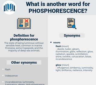 phosphorescence, synonym phosphorescence, another word for phosphorescence, words like phosphorescence, thesaurus phosphorescence