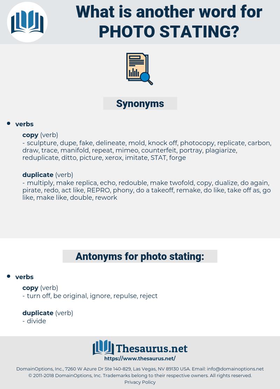 photo stating, synonym photo stating, another word for photo stating, words like photo stating, thesaurus photo stating