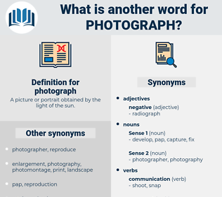 photograph, synonym photograph, another word for photograph, words like photograph, thesaurus photograph