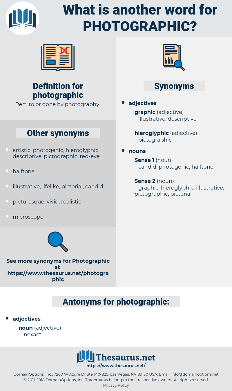 photographic, synonym photographic, another word for photographic, words like photographic, thesaurus photographic