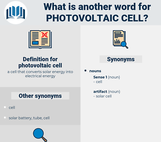 photovoltaic cell, synonym photovoltaic cell, another word for photovoltaic cell, words like photovoltaic cell, thesaurus photovoltaic cell