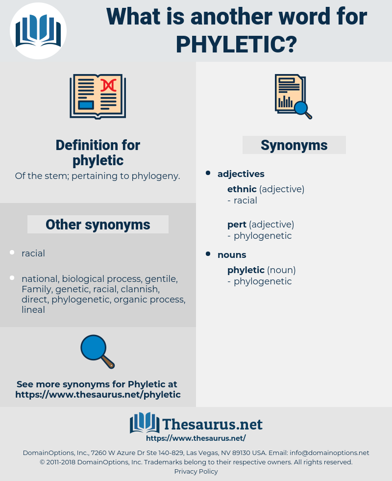 phyletic, synonym phyletic, another word for phyletic, words like phyletic, thesaurus phyletic
