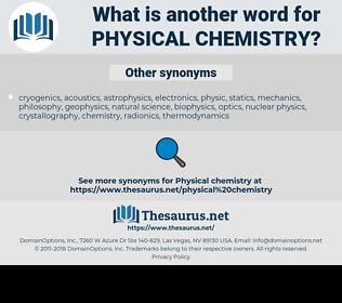 physical chemistry, synonym physical chemistry, another word for physical chemistry, words like physical chemistry, thesaurus physical chemistry