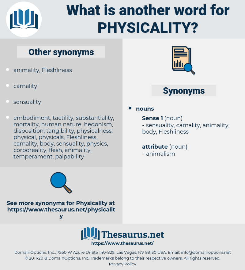 physicality, synonym physicality, another word for physicality, words like physicality, thesaurus physicality
